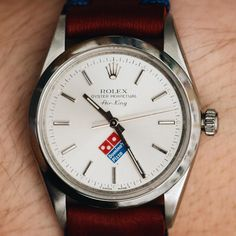 DOMINO'S LOGO ON THIS ROLEX