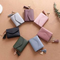 Small Leather Wallet, Small Wallet, Long Wallet, Leather Purses, Leather Wallets, Leather Clutch, Leather Handbags, Pu Leather, Cheap Purses