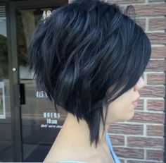 razored haircuts choppy stacked inverted bob haircut side view hair 2846