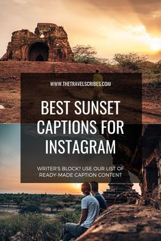 Sunset quotes & sunset captions - quotes to end the day Instagram Captions Sunset, Sunset Quotes Instagram, Instagram Caption Lyrics, Sunset Qoutes, Sunset Lyrics, Perfect Captions, Cool Captions, Travel Captions, Caption For Yourself