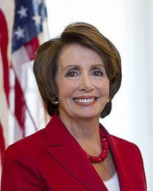 Nancy Pelosi,  1940 U.S. rep. (D,CA); House minority leader; former House speaker.