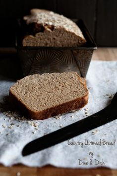 Country Oatmeal Bread}