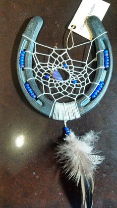 Lucky Horseshoe Dream Catcher - HorseLovers Trading Post