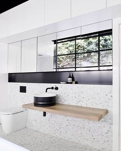 // We promised you more of that AMAZING Bathroom with Concealed Laundry by…