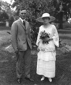 wedding day for Harry Truman and Bess Wallace