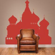 Adesivi murali Skyline Mosca
