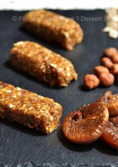 ♡ Fromage ou Dessert ? ... DESSERT !!! ♡: Barres fruitées aux céréales (figues et noisettes)...