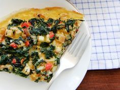 Dukan Diet Spinach Quiche for Cruise phase and beyond - Pin Series Dukan Diet Recipes, No Carb Recipes, Vegetarian Cooking, Vegetarian Recipes, Healthy Recipes, Spinach Quiche Recipes, Beyond Diet, Blood Type Diet, Low Carbohydrate Diet