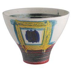 JACKSON Multi-coloured ceramic decorative bowl, Habitat