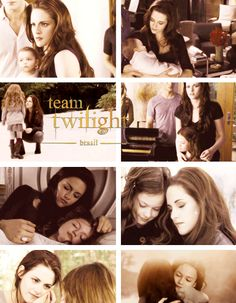 Bella and Renesmee #Twilight Saga #Breaking Dawn