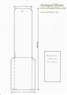 Bastelanleitung für ein Wunderkerzen-Mäppchen