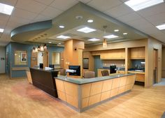 The attention to detail follows through into the Urgent Care design. All treatment rooms are private and have artwork.
