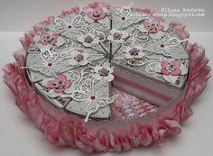 ArtWorks: Свадебный торт из бумаги