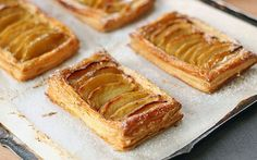 Image of french apple tart puff pastry - Dinner Recipe Apple Tart Puff Pastry, Puff Pastry Recipes, French Apple Tart, Apple Galette, Prime Rib, French Pastries, Baked Apples, Dessert Recipes, Desserts