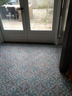 Portugese tegels FAIRY FLOSS   14x14 cm Collectie www.floorz.nl/portugese-tegels