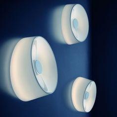 design-bestseller Lumiere XXL plafond- & wandlamp - niet dimbaar - XXL Ø 34 x 13 cm - showroommodel Glass Wall Lights, Led Wall Lamp, Led Ceiling, Design Bestseller, Glass Diffuser, Modern Wall Sconces, Decoration Design, Diffused Light, Lighting Solutions