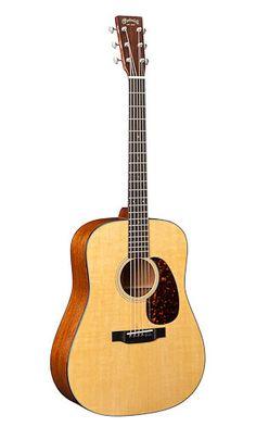 C. F. Martin Guitars - D-18 Dreadnaught Acoustic With Martin Hardshell Case