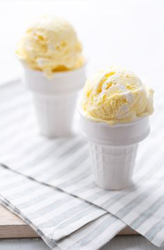 Your favorite pie, churned into ice cream (a dessert for SERIOUS lemon lovers!)