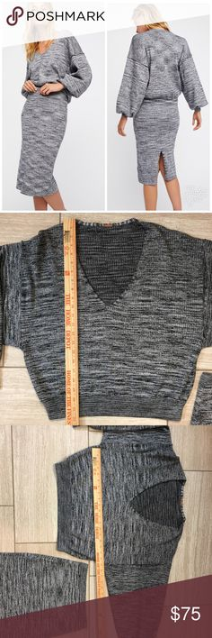 Float On set by Free People Matching sweater and skirt. Missing size and materials tag, otherwise like new condition with no flaws. Please see measurements, was a small. Feel free to ask questions! Free People Other