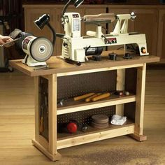 Basic-Built, Simple & Sturdy Tool Stand Woodworking Plan from WOOD Magazine