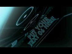 After Effects Template - Tron!