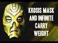 ▶ Skyrim Secrets: Krosis Mask and Infinite Carry Weight - YouTube