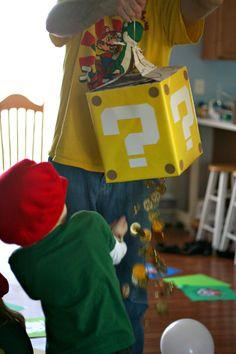 Craft, Interrupted: Fantastic Friday with Tiffany #1 ~ Mario Birthday Party!