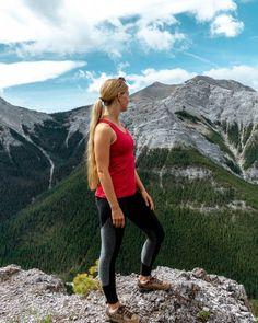 black rock mountain day hike near calgary alberta in 2020