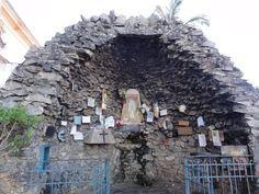 Gruta de Nossa Senhora de lourdes junto a Igreja Matriz Nossa Senhora Bonsucesso - Caeté