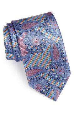Ermenegildo Zegna 'Quindici' Print Silk Tie available at #Nordstrom
