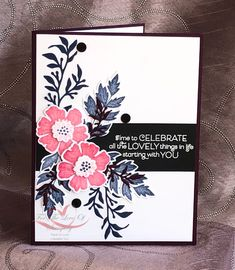 Stampin' Up! Everything is Rosy Medley ~For The Love of Stamping~ Card Making Inspiration, Making Ideas, Everything's Rosie, Christmas Rose, Beautiful Handmade Cards, Stamping Up Cards, Mothers Day Cards, Scrapbooking, Sympathy Cards