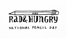 This is AWESOME! A great way to spend National Pencil Day! Thanks for the super rad fanmail, Pablo Hannon!