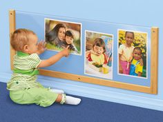 Child's View Changeable Display Center at Lakeshore Learning- easy to make something like this.