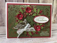 Time for Christmas in July with the Arrange a Wreath Bundle from Stampin' Up! This set will take you through every season of the year. Order yours today! Stampin Up Christmas, Christmas In July, Christmas Wreaths, Christmas Crafts, Christmas Tag, Stampin Up Weihnachten, Xmas Cards, Holiday Cards, Paper Cards