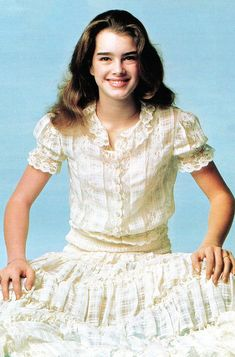 Most Beautiful People, Beautiful Models, Beautiful Actresses, My Celebrity Look Alike, Brooke Shields Young, Cute Girl Illustration, Skinny Girls, Pretty Baby, Kawaii Girl