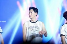Shinhwa 2015 encore concert - Jun Jin   Source: In the picture