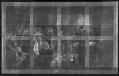 X-Ray Images Show Hidden Features in Painting of the Enigmatic John Dee (Note ring of skulls around his feet in this x-ray of the painting.)