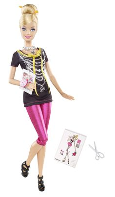 Barbie Photo Fashion Doll Driver Fashion Designer Barbie