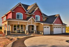 Exclusive House Plan 73330HS client-built in Oregon. The home gives you over 3,600 sq. ft. of living spread across 2 floors. And an optional lower level - with family room, game room, bar and more - adds just over 1,500 sq. ft. more.  4 beds and 3.5 baths (with an extra bed and bath if you build out the lower level). Ready when you are.  Where do YOU want to build?