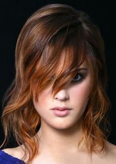 Love this color....and could work on short? ---Oh yes I think so!!