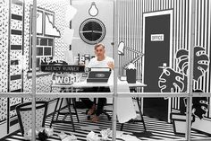 Wieden + Kennedy Displays Workers In A Pop Art Cage | Co.Design | business + design