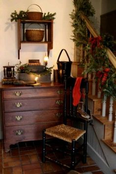 Christmas Decorating Ideas - The Rustic Modernist