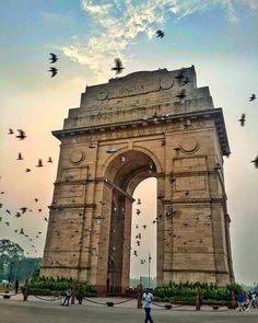 India Gate , New Delhi , India. #IncredibleIndia #FactsPediaIn                                                                                                                                                                                 More