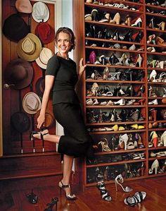 Jessica Alba's Closet