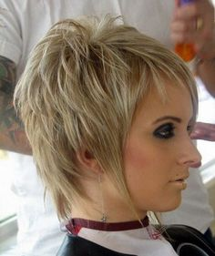 Creative Women's short haircuts for autumn-winter