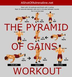 Pyramid Of Gains Workout