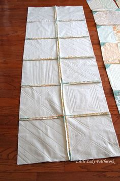 WHEN I made my  Blueberry Crumb Quilt, I decided to try the Quilt As You Go (QAYG)  method at the last minute. While I ...