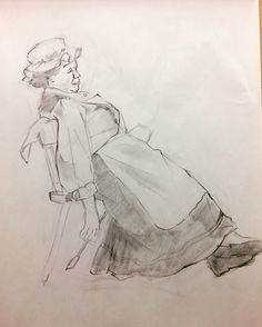 Clothed Figure in class work WEEK 6