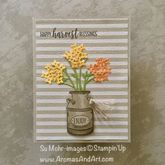 Country Home Stamp Set Thanksgiving Card