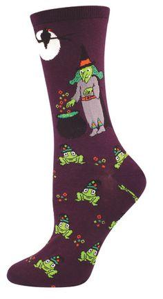 c248d105b7a Absolute Socks - Casting Spells Socks on Purple